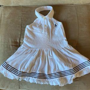 Ralph Lauren backless halter tennis dress